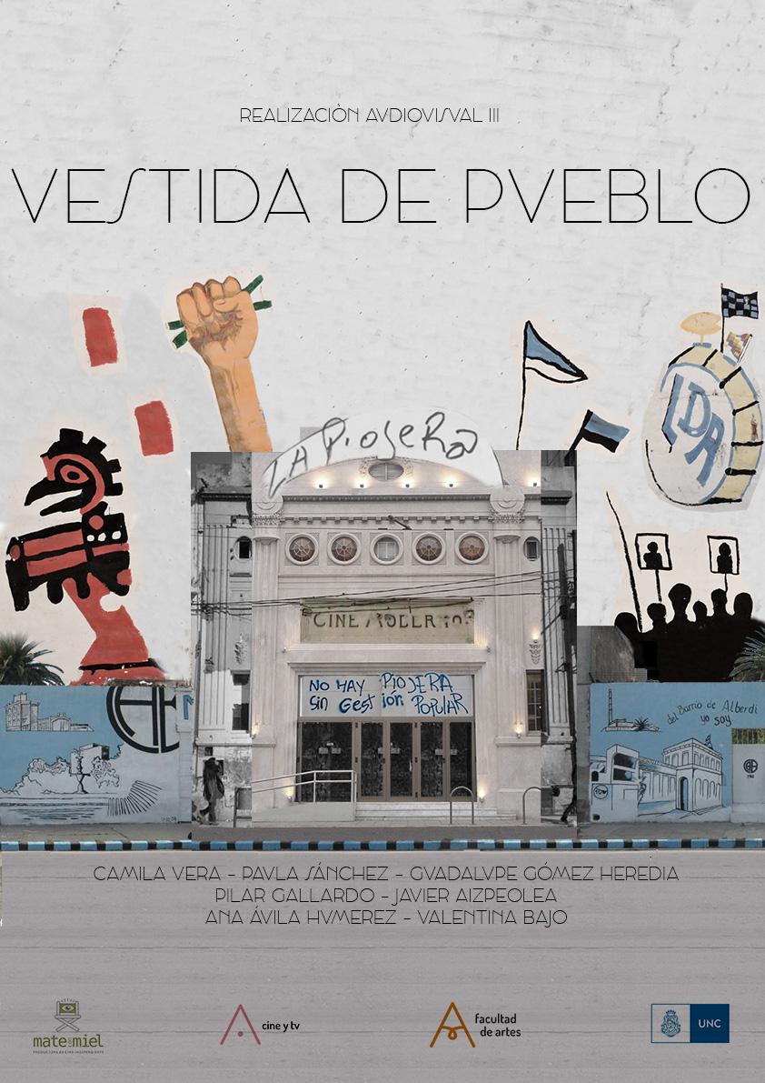 VESTIDA DE PUEBLO – POSTER1 – Paula Sanchez Clavijo